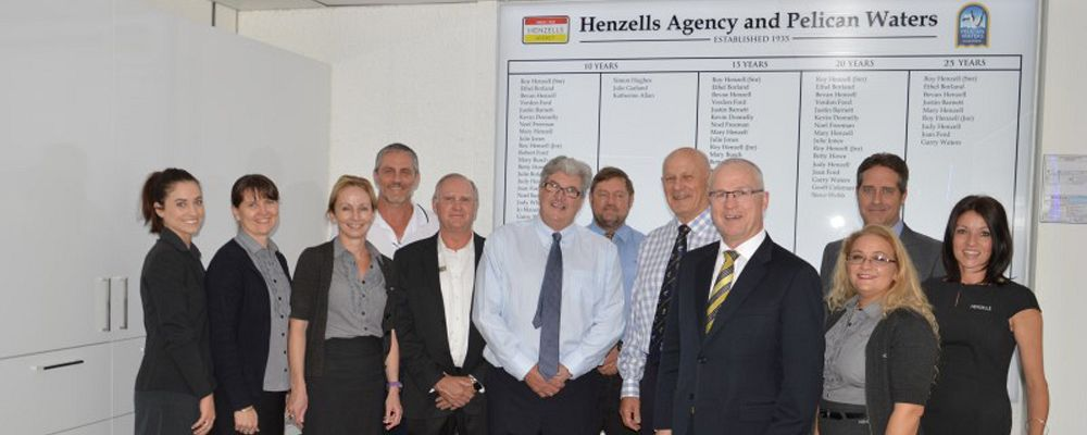Henzells Recognised for 80 Years Service to Staff and Community