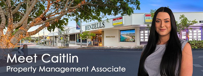Caitlin's on Board with Property Management Team