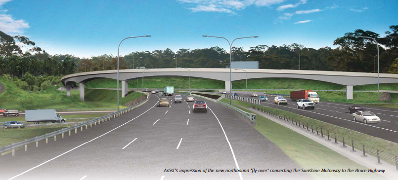 Caloundra Road to Sunshine Motorway Upgrade