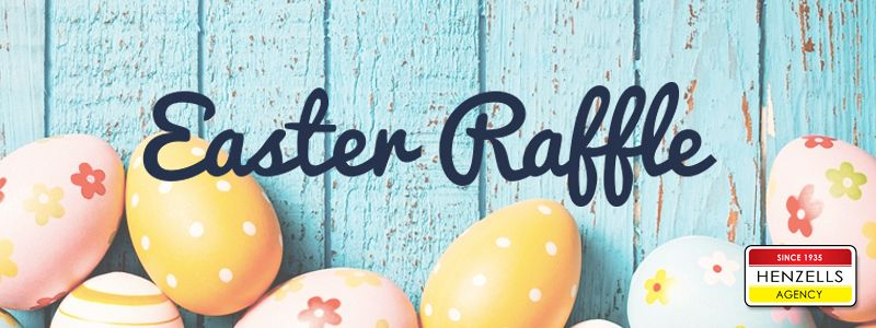 Hop In for Easter Raffle Tickets!