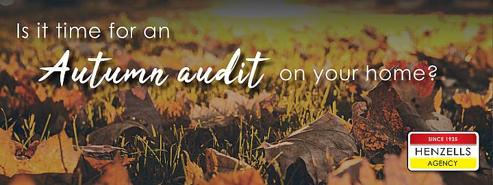 Is It Time For An Autumn Audit On Your Home?